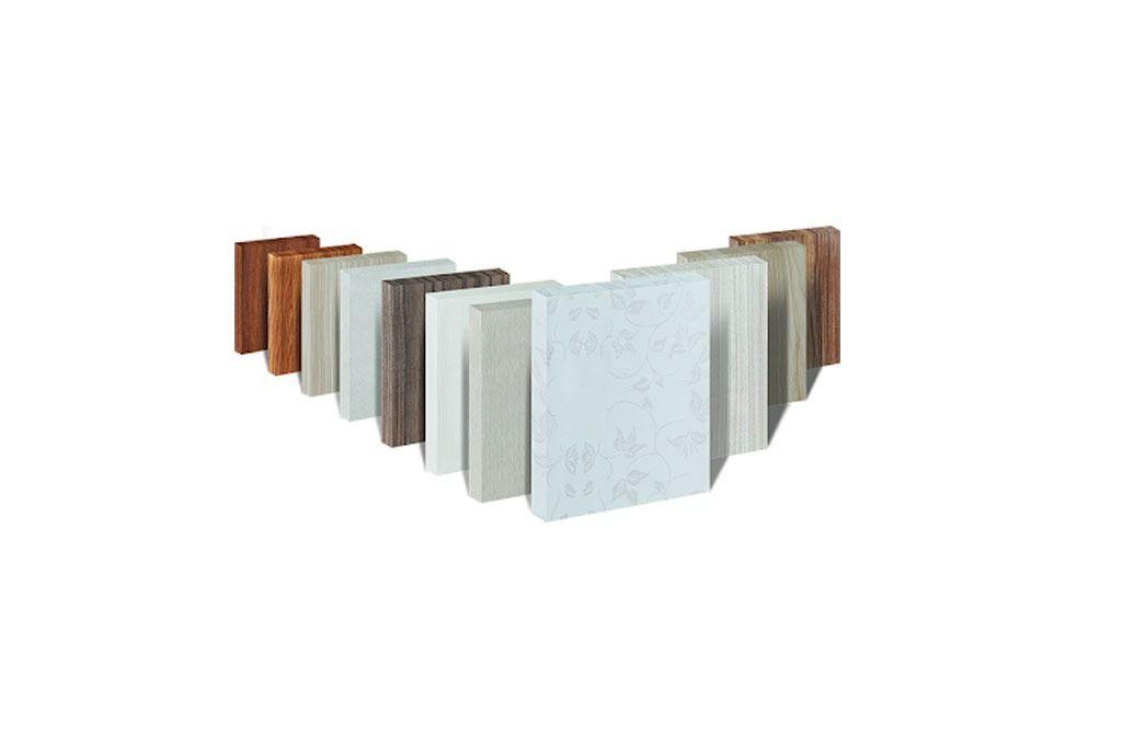 Mẫu tấm gỗ PVC foam