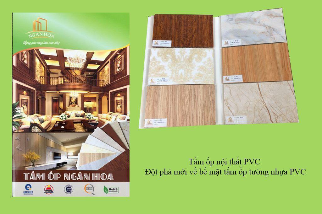Tấm ốp nội thất PVC