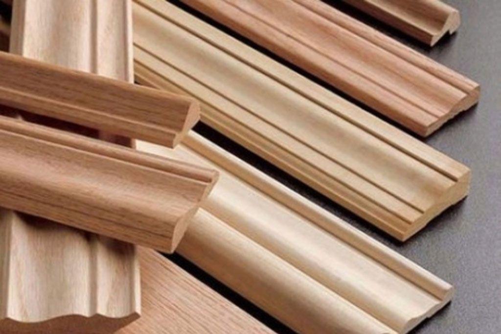 Phào chỉ gỗ tự nhiên