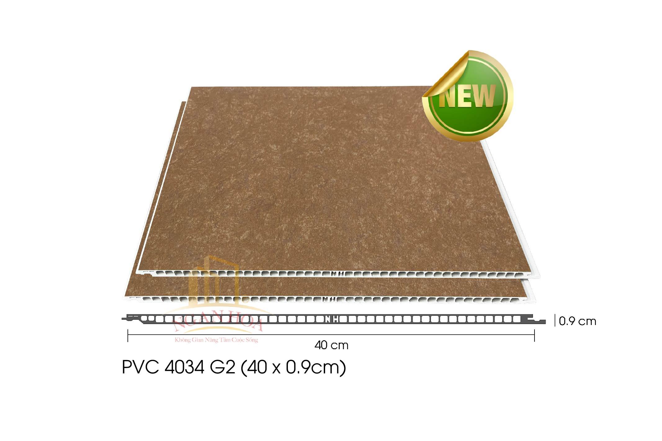 Tấm ốp PVC G2 4034