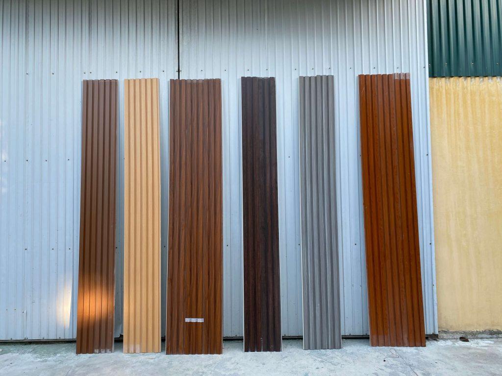 Màu sắc đa dạng của tấm ốp tường PVC