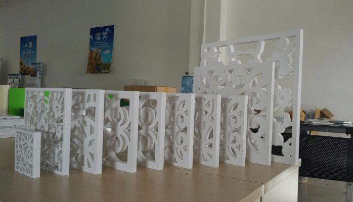 Kích thước từ nhỏ đến lớn của tấm PVC Foam