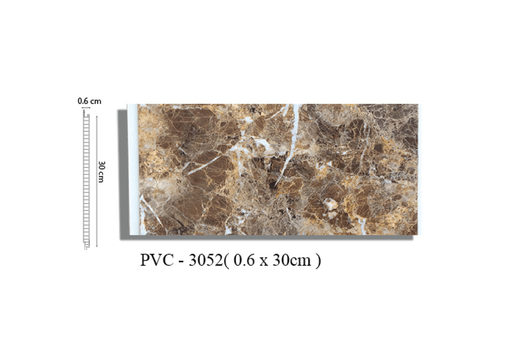 Tấm ốp tường vân đá PVC 3052