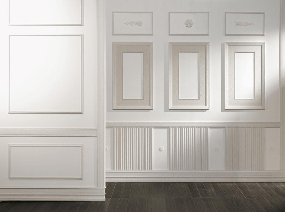 Ứng dụng phào chỉ vào nhiều thiết kế trong nhà ở
