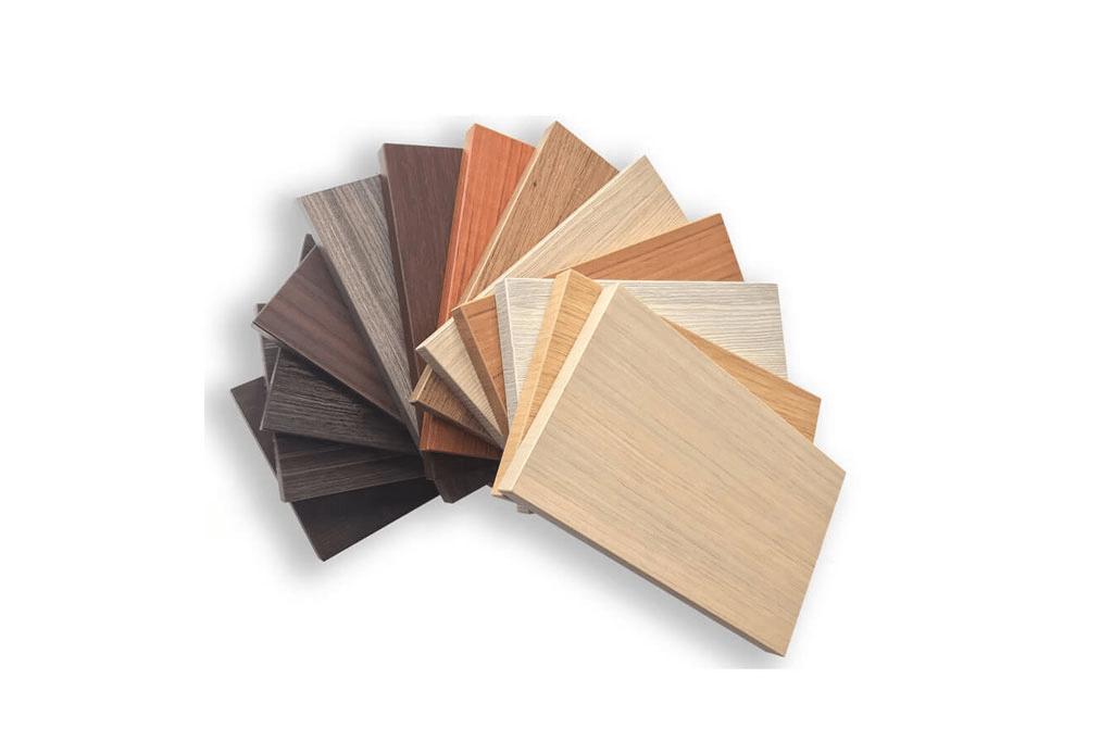 Các vân màu gỗ nhựa thông minh đẹp