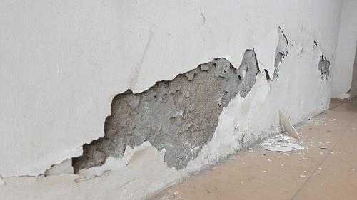 cách xử lý tường bị ẩm bong tróc