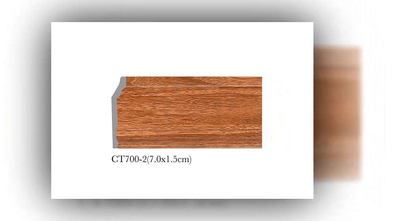 phào chỉ gỗ tự nhiên đẹp