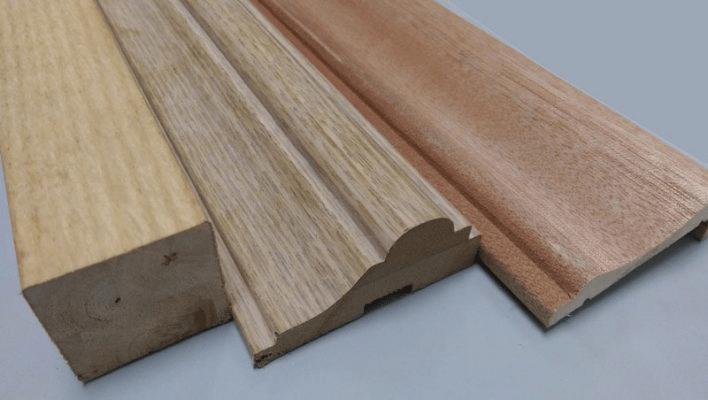 Phào chỉ bằng gỗ