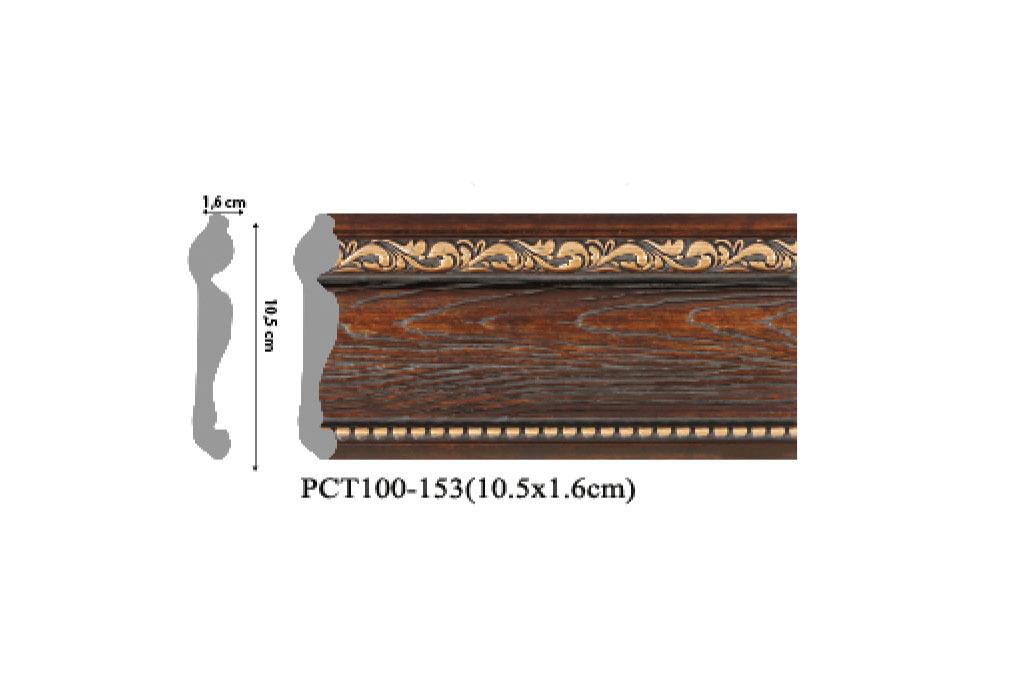 phào chỉ trang trí PCT100-153