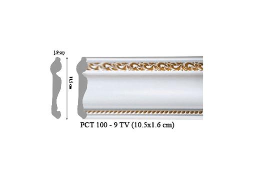 Phào chỉ trang trí PCT100-9 TV