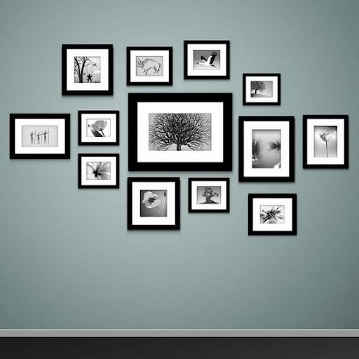 Trang trí khung tranh theo bố cục Gallery